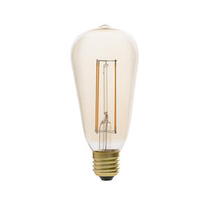 LAMPADINA DECORATIVA FILAMENTO LED AMBRA E27 5W 22