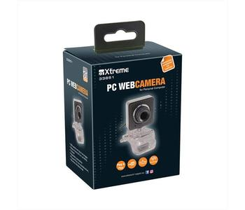 XTREME WEB-CAM 33851 CAMERA+MICROFONO USB 640 PIXEL
