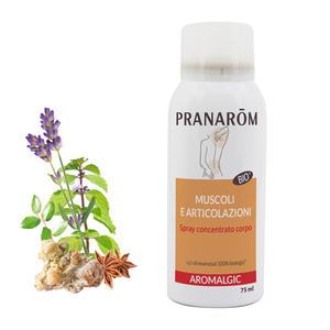 Pranarom - Spray concentrato corpo Aromalgic bio