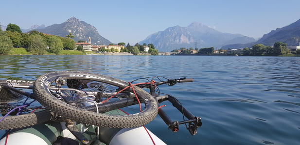 FIUME ADDA DA IMBERSAGO, TOUR GUIDATO IN PACKRAFT + BIKE