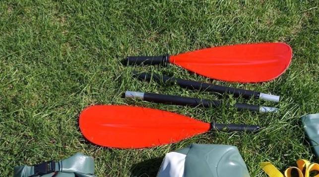PAGAIA ASIMMETRICA TNP colore rosso smontabile in 4 pezzi per il trasporto.