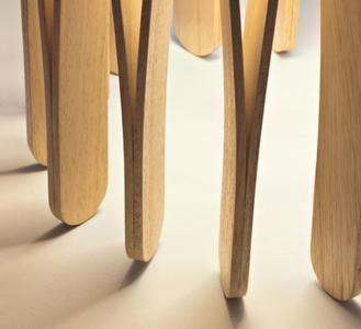 Lume Stick di Fabbian con Diffusore Cilindrico in Legno Ayous e Struttura in Metallo - Offerta di Mondo Luce 24