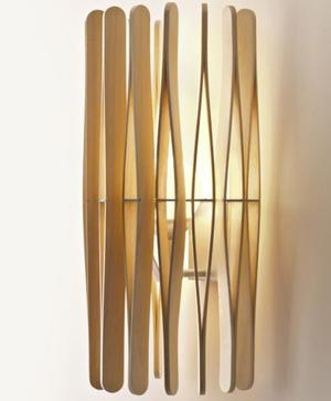 Lampada da Parete Stick di Fabbian con Diffusore Cilindrico in Legno Ayous e Struttura in Metallo - Offerta di Mondo Luce 24