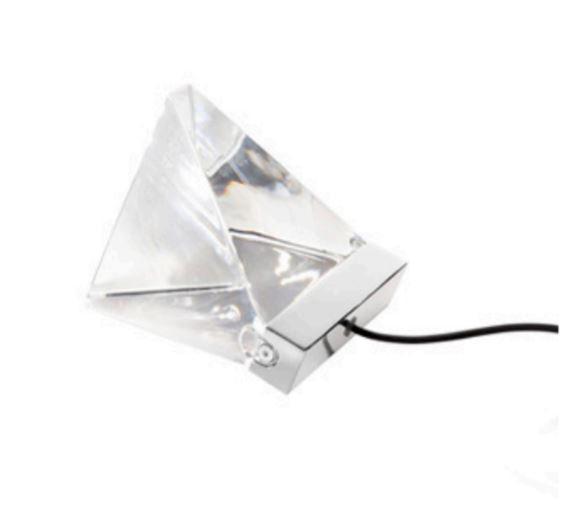 Lume Tripla di Fabbian con Diffusore in Cristallo Trasparente e Struttura in Alluminio, Varie Finiture - Offerta di Mondo Luce 24