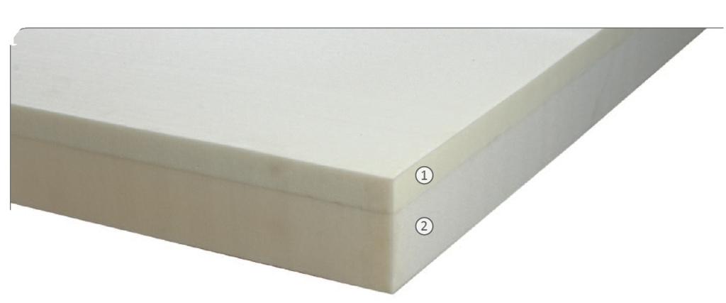 Materasso Memory Mod. Super Confort da Cm 90x190/195/200 BioActive Sfoderabile Altezza Cm. 22 - Ergorelax