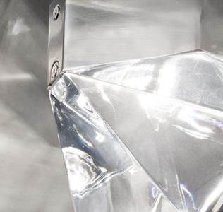 Lampada da Soffitto Tripla di Fabbian con Diffusore in Cristallo Trasparente e Struttura in Alluminio, Varie Finiture - Offerta di Mondo Luce 24
