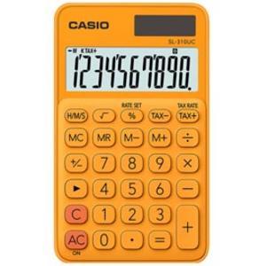 Calcolatrice tascabile SL-310UC arancio CASIO