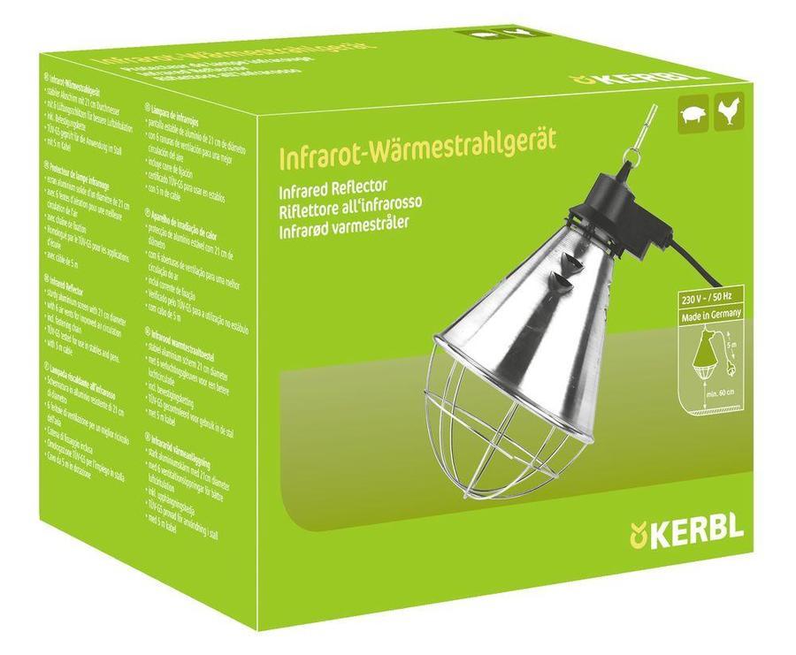 Riflettore per irradiazione del calore infrarossi con 2,5 m cavo