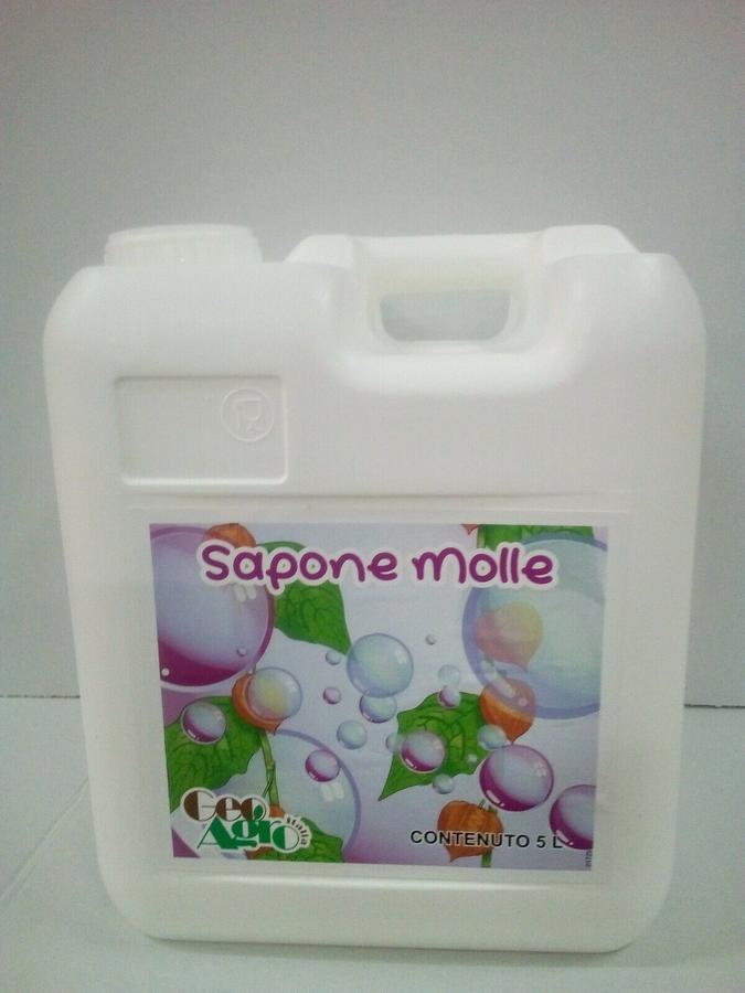 SAPONE MOLLE CORROBORANTE tanica 5 litri