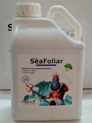 SeaFoliar - Biostimolante estratto a freddo di Ascophyllum Nodosum tanica 5 LT