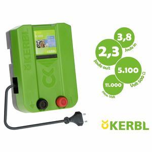 Elettrificatore 230V per recinti elettrici KERBL TITAN N 3800 2,3 J