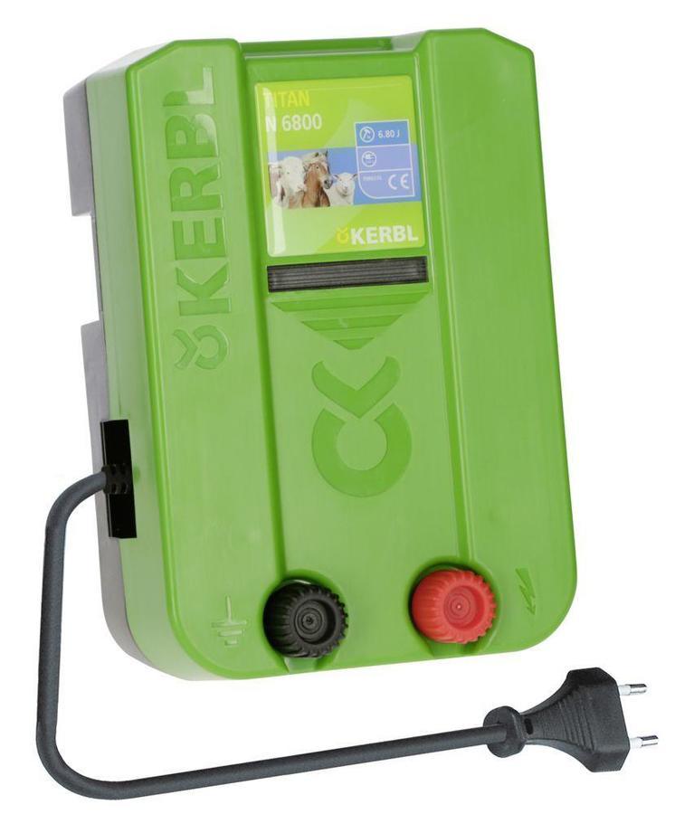 Elettrificatore 230V per recinto elettrico KERBL TITAN N 6800 4,8 J