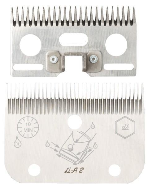 LI A2 / LC A2 pettine e coltello per Equini per tosatrice super 3000 originale liscop