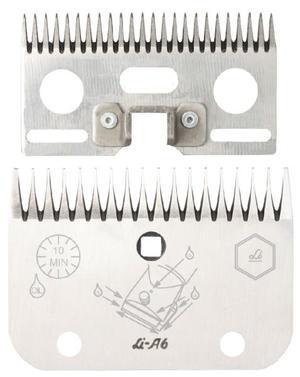 LI A6 / LC A6 pettine e coltello per tosatrice super 3000 per bovini originale liscop