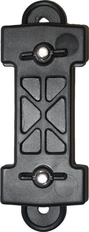 Isolatore per recinti elettrici per banda fino 40 mm Isolatore di inizio, angolo o fine busta 10 pezzi