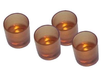 G - 0013 cupolino colore brunato trasparente 100pz