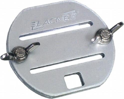 Giunzione a fibbia in alluminio per banda da 20 mm 2 pz