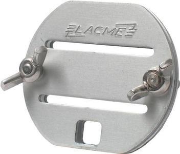 Giunzione a fibbia in alluminio per banda da 40 mm