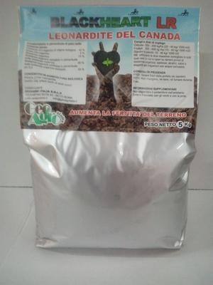 BLACKHEART LR Leonardite del Canada sacco 5 kg per agricoltura biologica