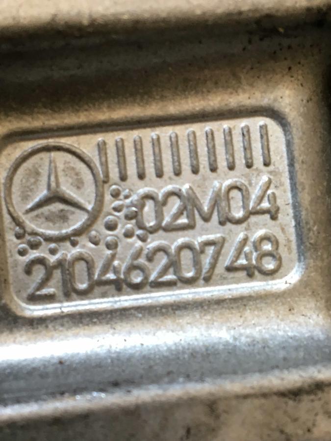 Alberino a snodo inferiore piantone sterzo Mercedes W211-203 - 2104620748