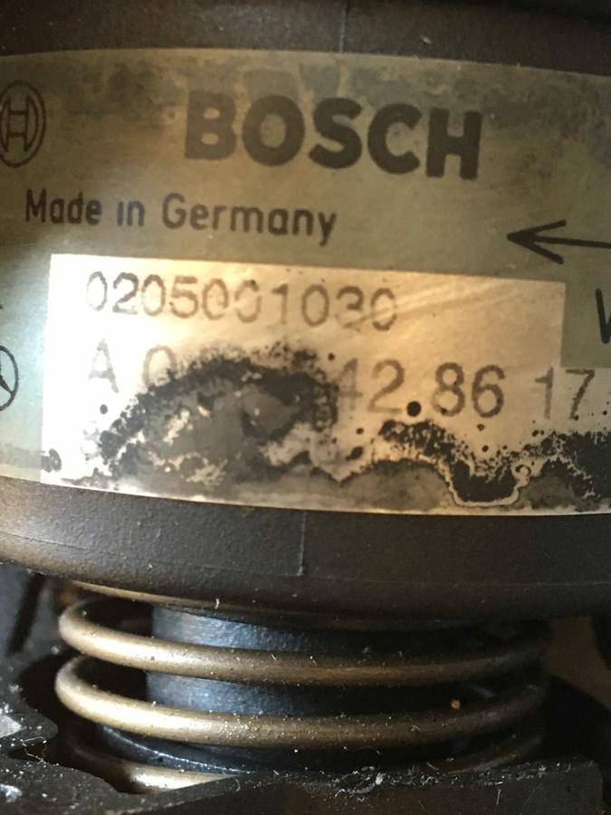 Modulo elettrico acceleratore Mercedes W210 - Sensore, supporto, cavo - 0205001030