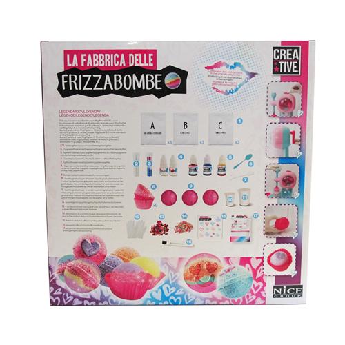 La fabbrica delle Frizzabombe - Nice Group 02005 - 8+ anni