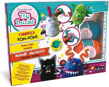 Pom-Pom realizza animali fantastici - Nice Group 45122 - 8+ anni