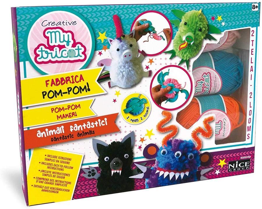 Pom-Pom realizza animali fantastici - Nice Group 45122 - 8+ anni