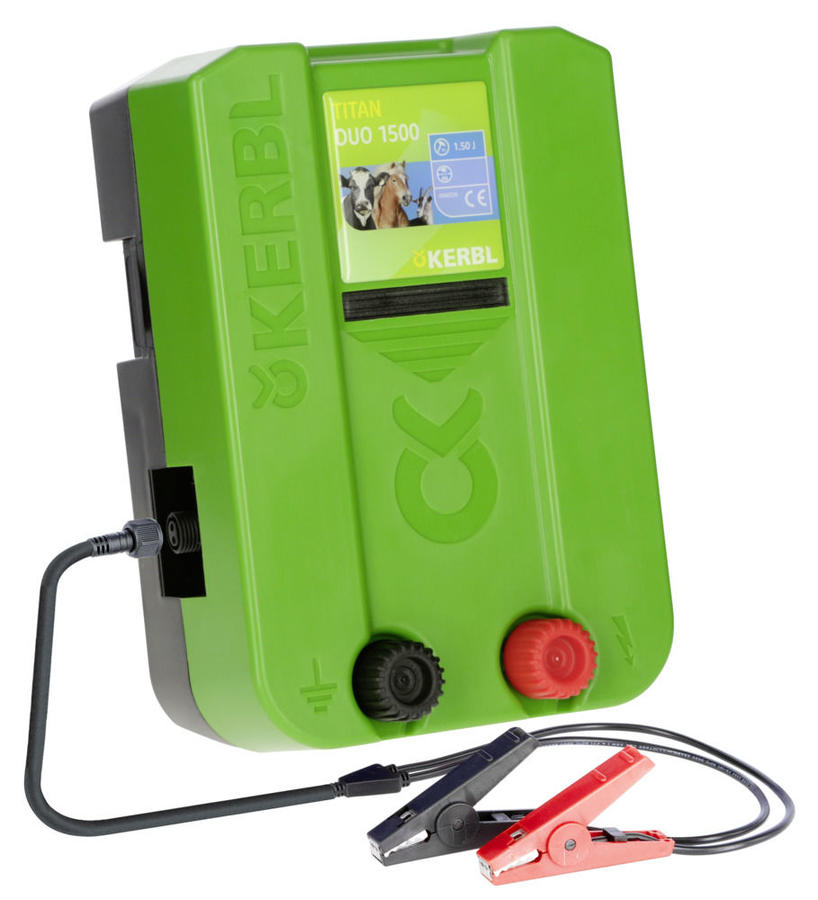 Elettrificatore TITAN DUO 1500 12 / 230  Volt 1,5 Jolue