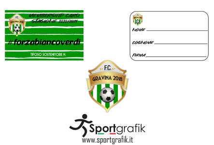 Membership Card Stagione 2020/2021