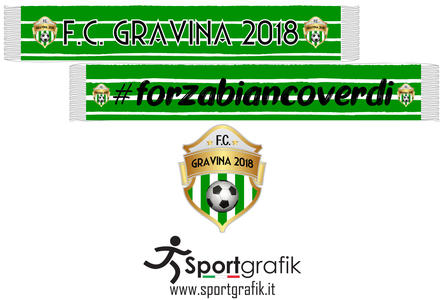 Sciarpa Ufficiale Gravina Football Club