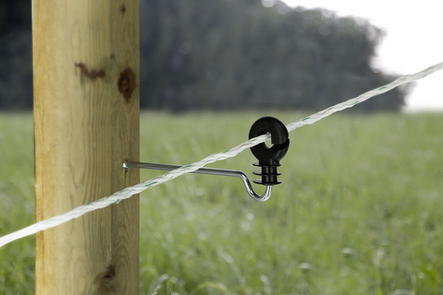 Isolatore ad anello con gambo lungo 22 cm busta 10 pezzi