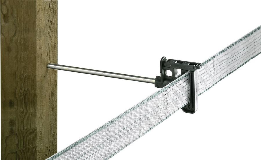 Isolatore per recinti elettrici per banda con gambo lungo 20 cm busta 10 pezzi
