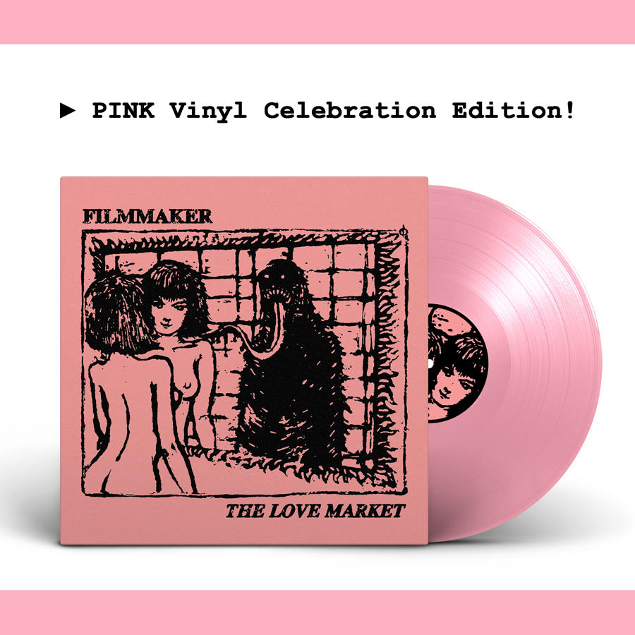 Filmmaker - The Love Market // Pink limited edition