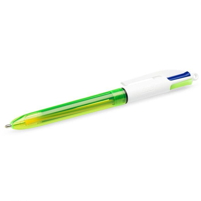 BIC 4 colori fluo