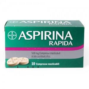 ASPIRINA Rapida 500 mg compresse masticabili