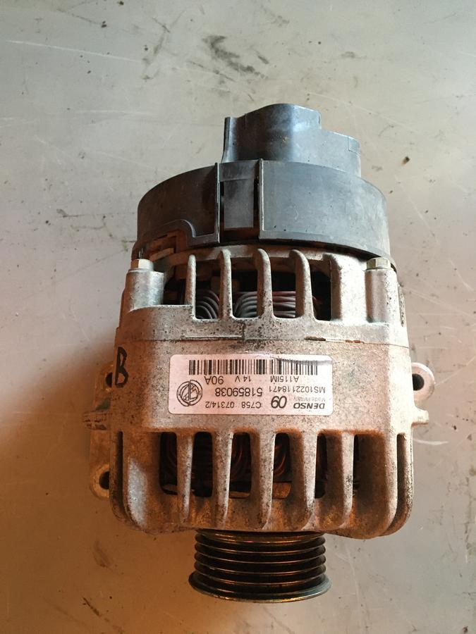 Alternatore Fiat Grande Punto Benzina - 51859038