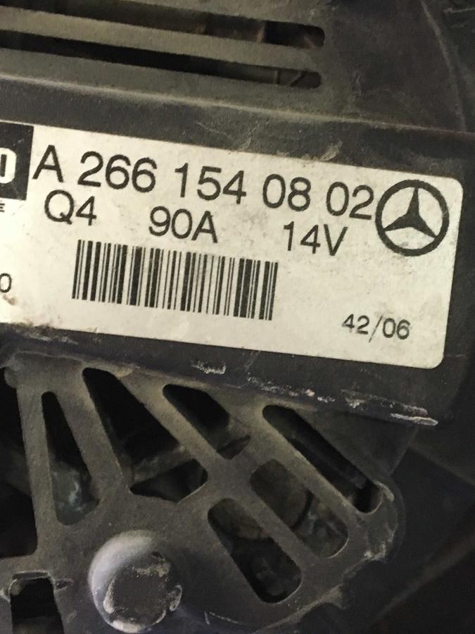 Mercedes W245-Classe B Valeo - A2661540802