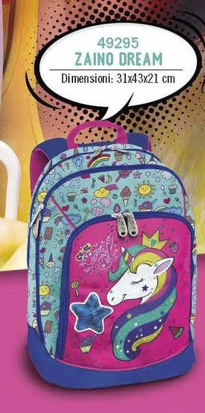 ZAINO DREAM UNICORNO ORIGINAL