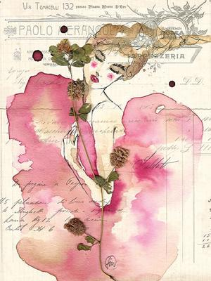 Francesca Mariani, Stampa A4 firmata: Like a Flower