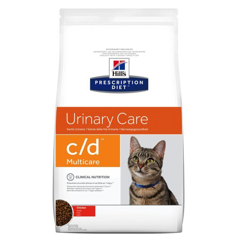 Hill's c/d Urinary Care Pollo 5 Kg Crocchette Croccantini Per Gatti Problemi Urinari