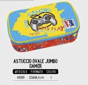 ASTUCCIO OVALE JUMBO GAMER