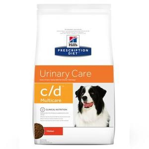 Hill's c/d Urinary Care Pollo 5 Kg Crocchette Croccantini Per Cani Problemi Urinari