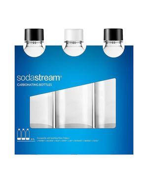 Bottiglie in Plastica 3 pz per Gasatori Sodastream