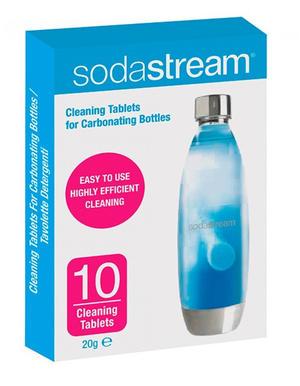 Set 10 Pastiglie Pulizia Bottiglia Sodastream