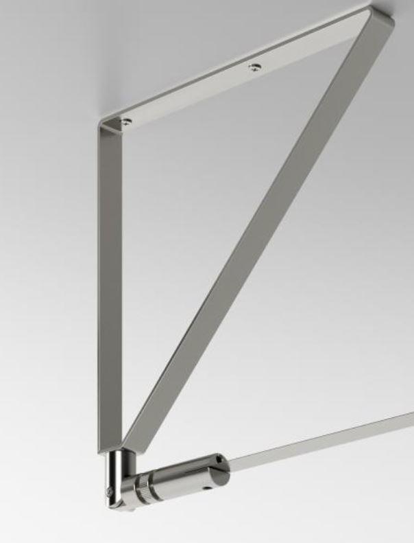 Accessori per Lampada a Parete/Soffitto Metro di Fabbian con Struttura in Acciaio Inox - Offerta di Mondo Luce 24
