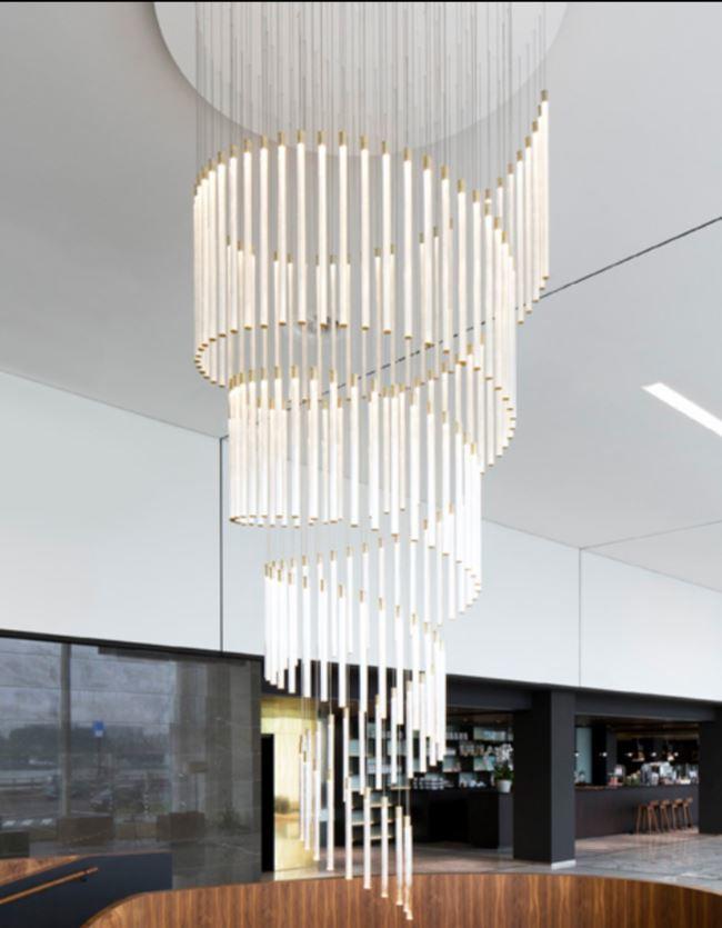Lampada Multispot Tooby di Fabbian a 30 Luci in Alluminio e Diffusori in Vetro Borosilicato Trasparente, Diverse Versioni - Offerta di Mondo Luce 24