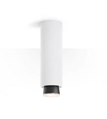 Lampada a Soffitto Claque di Fabbian in Alluminio con Diffusore Fisso, Varie Misure e Finiture - Offerta di Mondo Luce 24