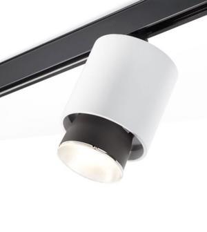 Lampada a Binario Claque di Fabbian in Alluminio con Diffusore Orientabile, Varie Finiture - Offerta di Mondo Luce 24
