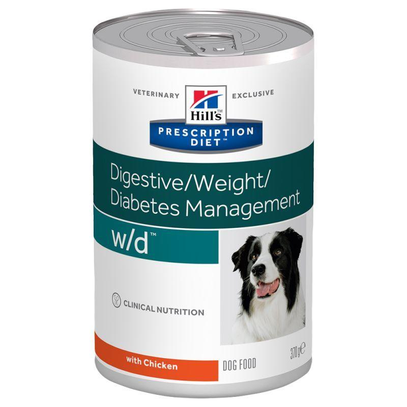 Hill's Prescription Diet w/d Digestive Weight Diabetes Management Per Cani Diabetici